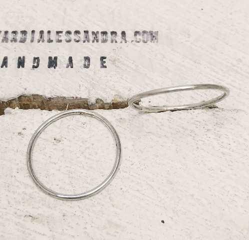 Ferma Anelli Argento 925 - Reductor de Anillos Plata de Ley