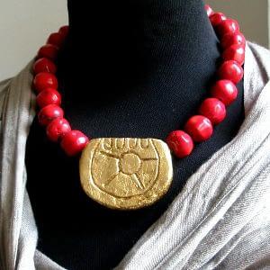 Collana Sole Frida KAhlo