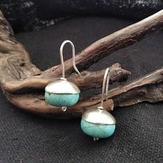 orecchini turchese pendenti
