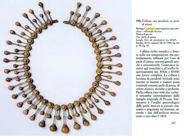 Collana Augusto Castellani Musei Capitolini Roma