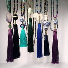 Tassel Necklace - Collar Borla - Collana Nappina